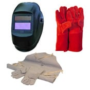Welding Masks, Welding Gloves, Welding Gauntlets, Welding Aprons