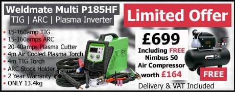 SIP Weldmate Multi P185 Limited Offer only £699