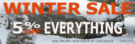 Winter Sale 5% Off Everything