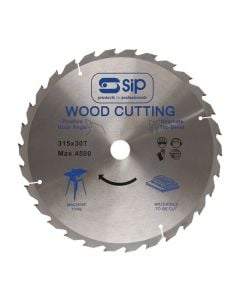 SIP 06156 12in (315x30mm) TCT Circular Saw Rip Blade (for 01541/01446)