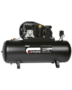 SIP Airmate TN3/200 belt drive 13cfm air compressor with 200 litre receiver