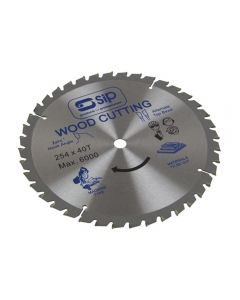 SIP 07773 10in (254x16mm) TCT Circular Saw Blade, 40 Tooth (for 01314/01321/4)