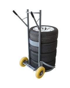 SIP Winntec tyre and wheel cart