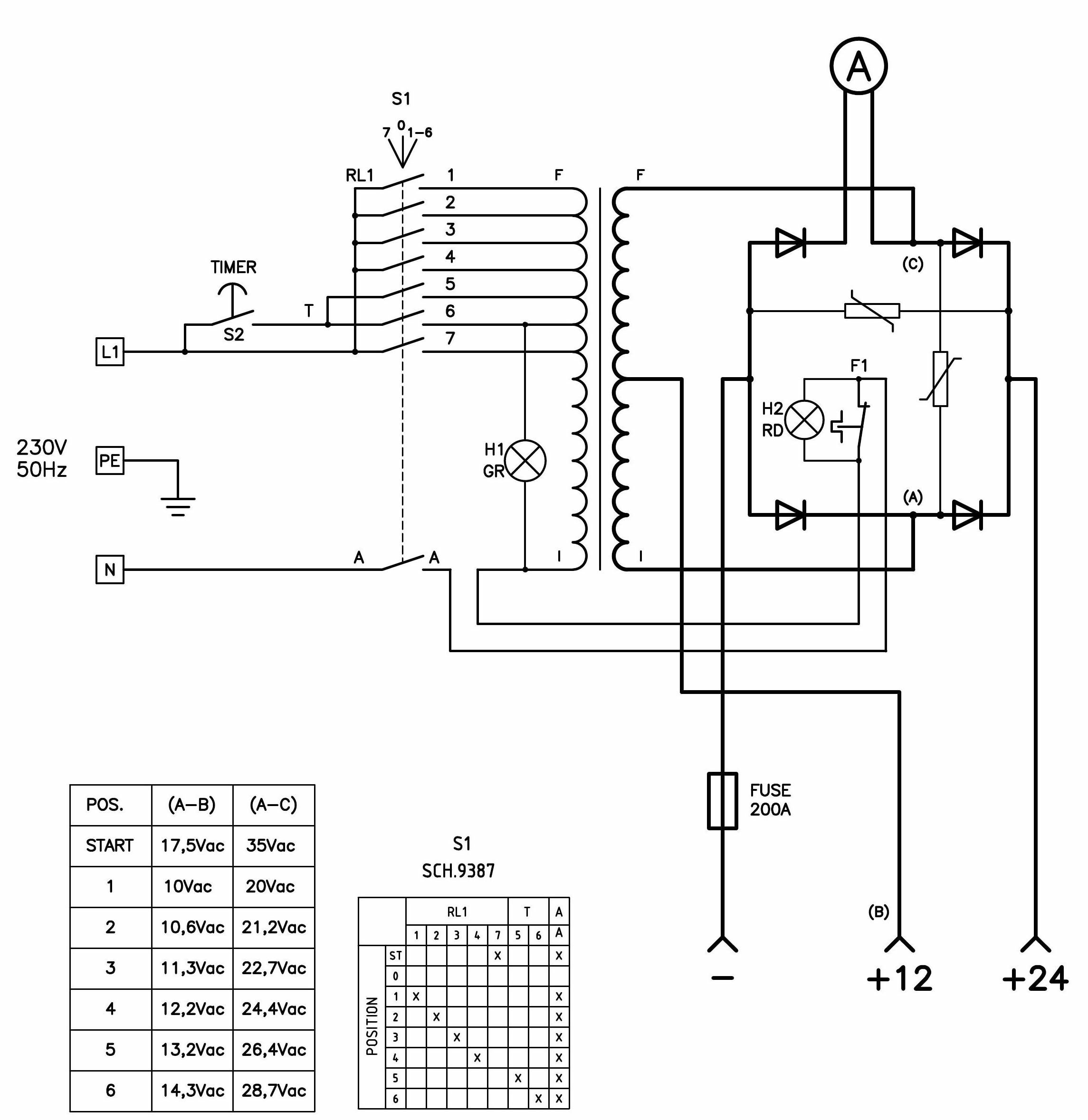 acdelco generator wiring diagram