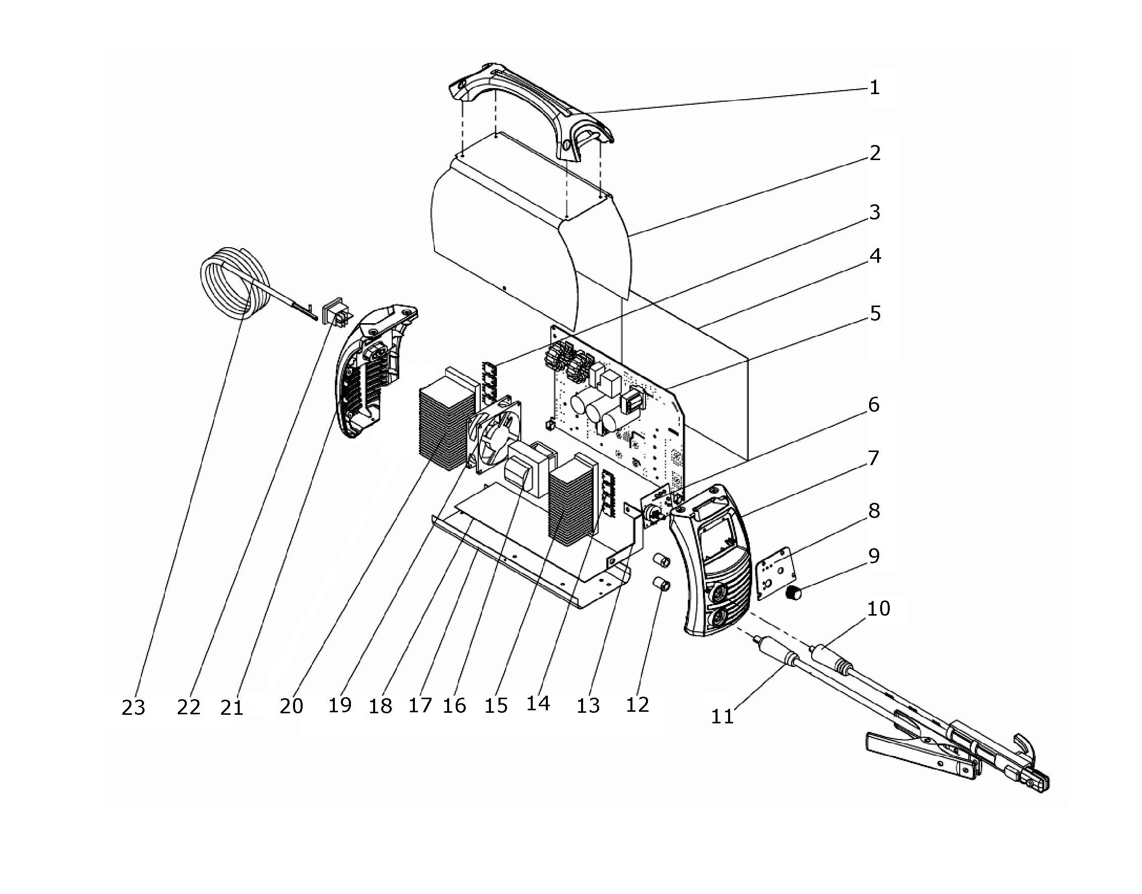 sip 05706 t183 inverter arc tig welder diagram