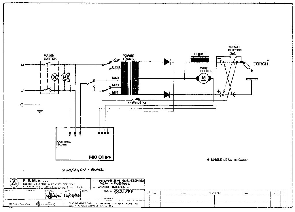 Sip 06509 Migmate 130t Dp Circuit Diagram