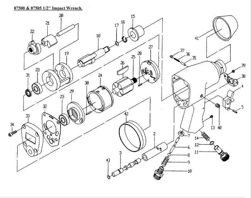 2 Impact Wrench Diagram