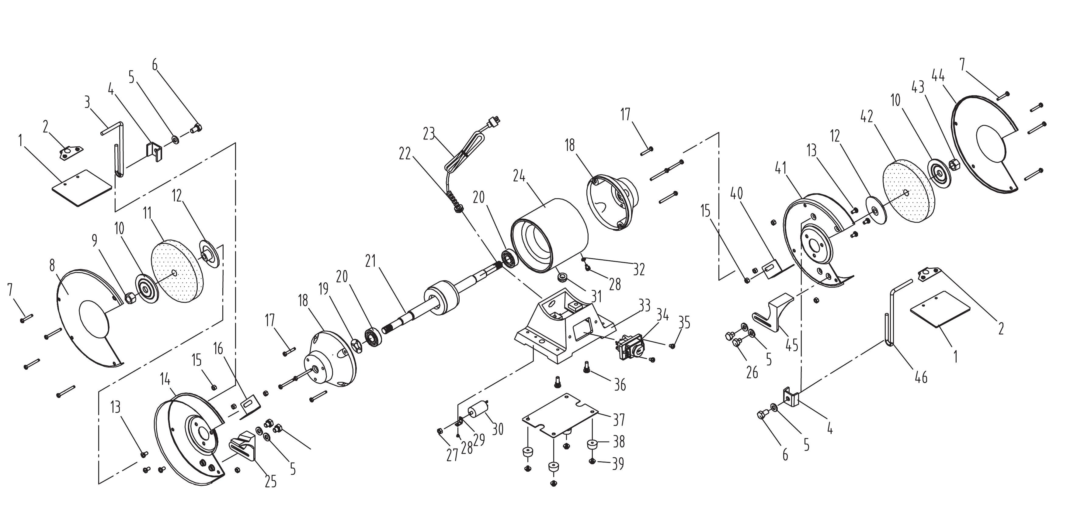Columbia Bench Grinder Wiring Diagram Electrical Diagrams Delta Image Of This Is How You Use A Switch