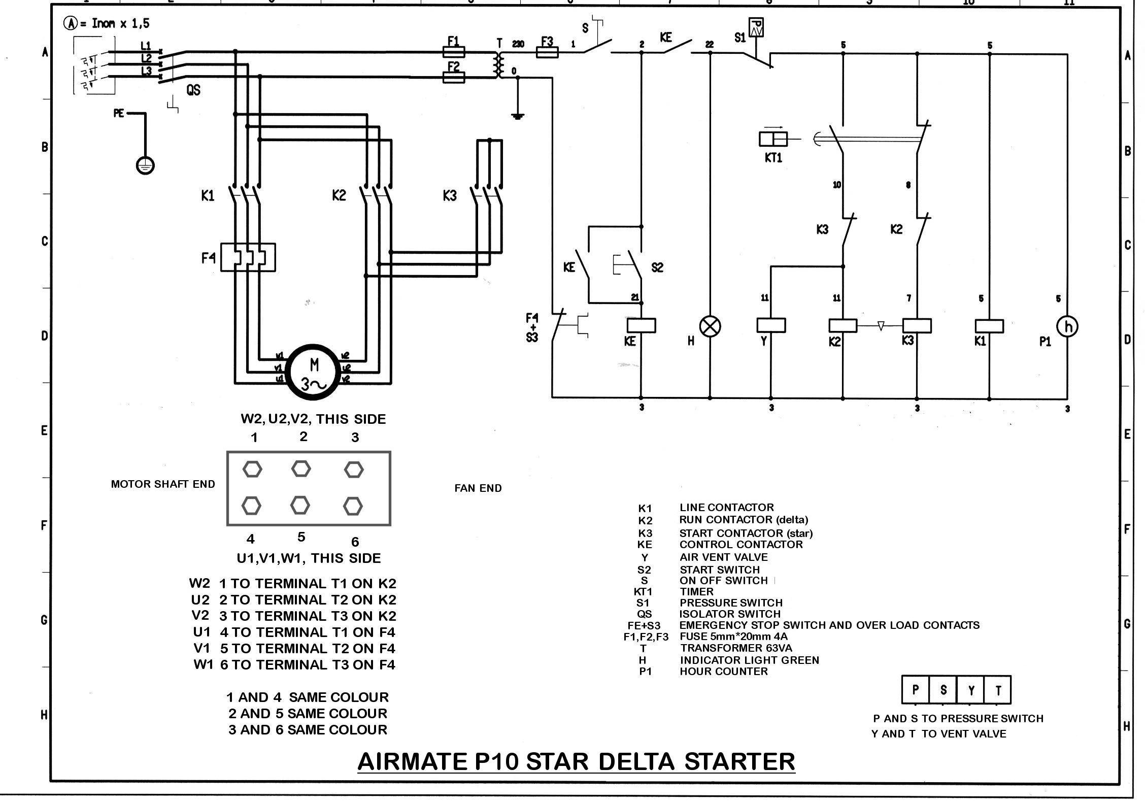 Airmate_P10_wiring airmate p10 270 compressor wiring diagram compressor wiring diagram at bayanpartner.co