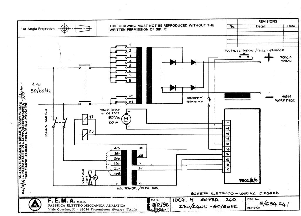 sip 02607 ideal 240n 240v circuit diagram