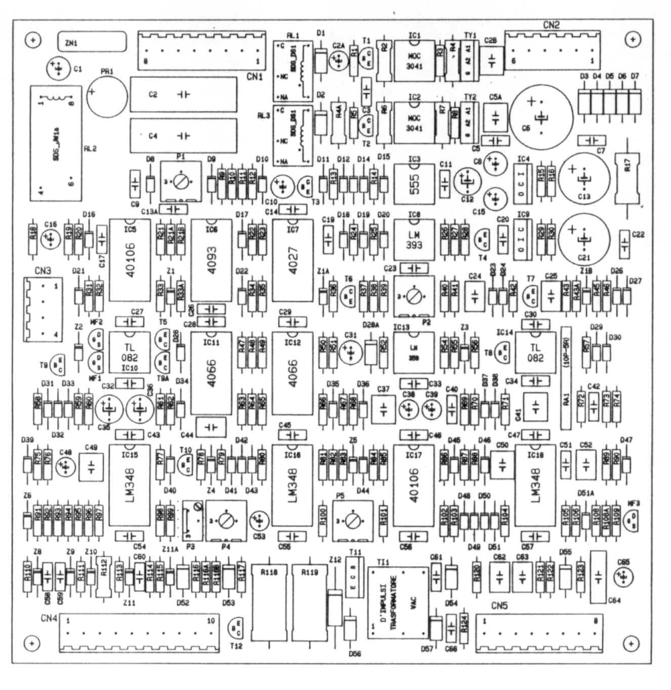 Sip 05006 Tig 160 Ac Dc Pcb Layout Inverter Welding Board Cutting Machine Circuit Industry