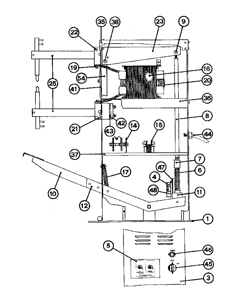 Spot Welding Circuit Diagram Sip 03026 03036 03047 And 25060 Welder